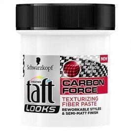 Taft Looks Carbon Force tvarující vláknitá pasta na vlasy 130 ml