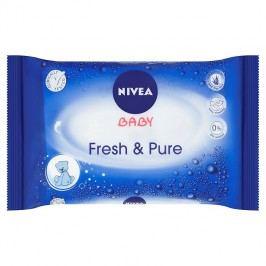 Nivea Baby Pure&Fresh ubrousky 63 ks