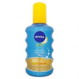 Nivea Sun Protect & Refresh Neviditelný sprej na opalování OF 10  200 ml