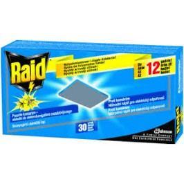 Raid Silver elektrická náhradní suchá náplň 30 ks