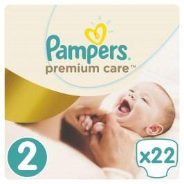 Pampers Premium Care pleny 2 Mini, 3-6 kg  22 ks