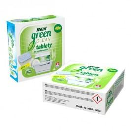 REAL green clean tablety do myčky   40 ks