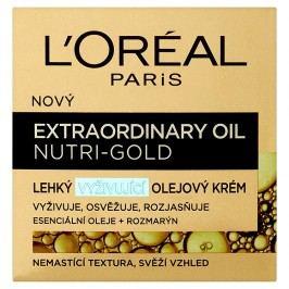 L'Oréal Paris Nutri-Gold, lehký vyživující olejový krém  50 ml