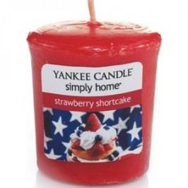 Yankee Candle - Votive Strawberry Shortcake 49 g