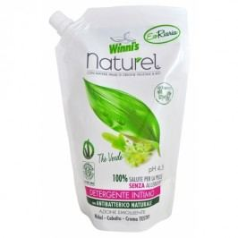 Winni's Naturel tekuté mýdlo pro intimní hygienu se zeleným čajem náhradní náplň 500 ml