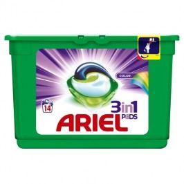 Ariel 3v1 Color gelové kapsle, 14 praní 14 ks