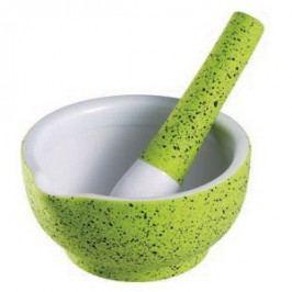 Hmoždíř porcelánový 15 cm zelená RENBERG RB-10104zele