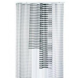 Sprchový závěs LAMITA, 100%PES, 180x200cm, šedý KELA KL-22096