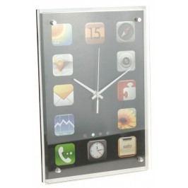Hodiny nástěnné 36x25x4 cm, design I-Phone EXCELLENT KO-C37562130