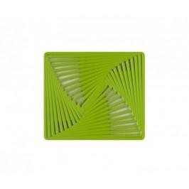 Protiskluzná podložka do dřezu METRICO zelená 24,5x28cm KELA KL-12243
