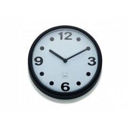 Nástěnné hodiny Genua plast, černá 17,5cm KELA KL-22507