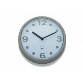Nástěnné hodiny Genua plast, šedá 17,5cm KELA KL-22508