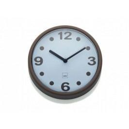 Nástěnné hodiny Genua plast, šedohnědá 17,5cm KELA KL-22509