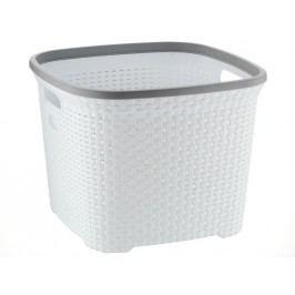 Koš na prádlo RIO 45 L plast bílý  KELA KL-23372