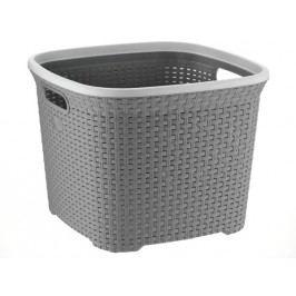 Koš na prádlo RIO 45 L plast šedý  KELA KL-23378
