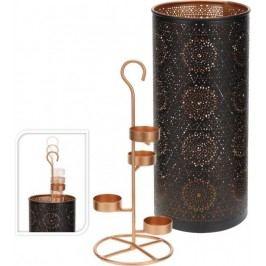 Dekorativní svícen na 4 čajové svíčky vysoký 30 cm  ProGarden KO-A04420280