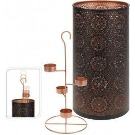 Dekorativní svícen na 4 čajové svíčky vysoký 35 cm  ProGarden KO-A04420340