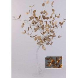 Vánoční světelný strom zlaté listy, 96LED, 100 cm, teplá bílá       EXCELLENT KO-AXF201330
