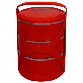 Jídlonosič třípatrový červený  BLAUMANN BL-3218cerv