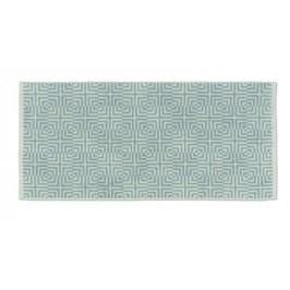 Ručník LANDORA 50x100 cm šedá/bílá KELA KL-20324