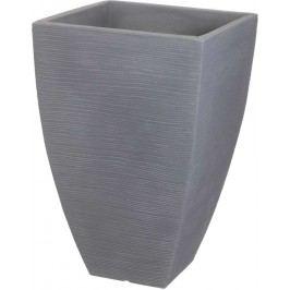 PROGARDEN Květináč žebrovaný 40 x 60 cm šedá KO-Y54191550