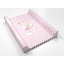 montovací přebalovací pult (růžový) - víla