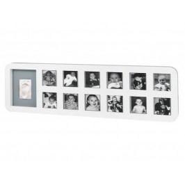 BABY ART - Rámeček 1st Year Print Frame White / Grey