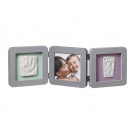 BABY ART - Rámeček Double Print Frame Grey