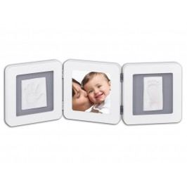 BABY ART - Rámeček Double Print Frame White & Grey