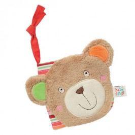 BABY Fehn - oskar měkká knížka medvídek
