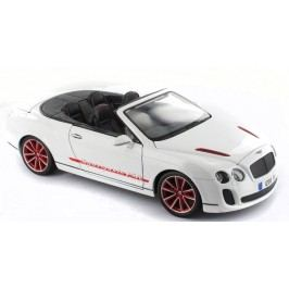 BBURAGO -  Bentley Continental SuperSports Convertible ISR 1:18 Diamond