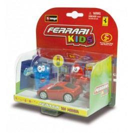 BBURAGO -  Ferrari Kids Autíčko s příslušenstvím asort