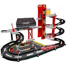 BBURAGO -  Ferrari Racing garáž s jedním autíčkem 30197