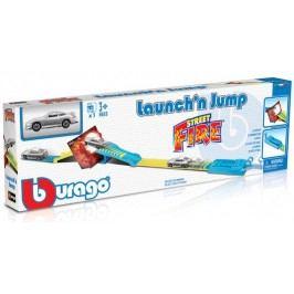 BBURAGO -  Street Fire Launch'n Jump 30284 s jedním autíčkem 1:43