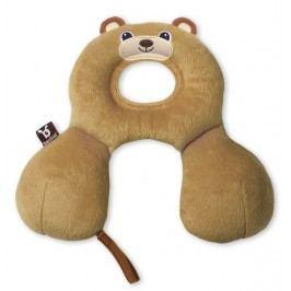 BENBAT- Nákrčník s opěrkou hlavy (0-12 měsíců) - medvěd