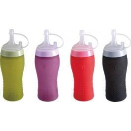 BERGNER - Silikonová láhev na omáčky / dresink, mix barev