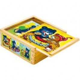 Bino - 13205 Kostky Baribal v krabičce 9 kusů