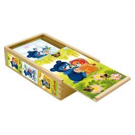 Bino - 13207 Kostky Baribal v krabičce 15 kusů