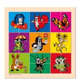 Bino - 13735 Puzzle Krtek a přátelé