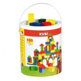 BINO - 84196 Kbelík s kostkami-100 dílů