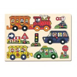 Bino - 88060 Puzzle Doprava
