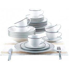 30 dielna obedová sada, biela, BL-2039-2