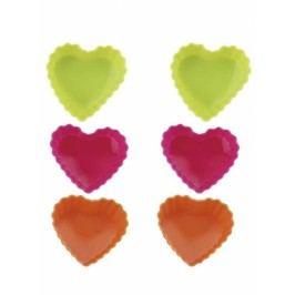 Forma silikonová srdce 6ks, BL-1267