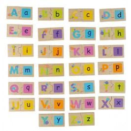 BOIKIDO - Oboustranné puzzle - Abeceda