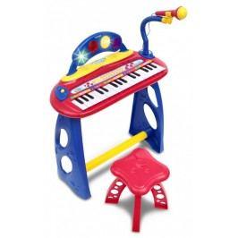 BONTEMPI - Dětské elektronické piano se stoličkou a mikrofonem MK3440