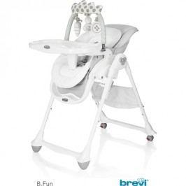 Brevi - B Fun 279 Židle na krmení Pearl Grey