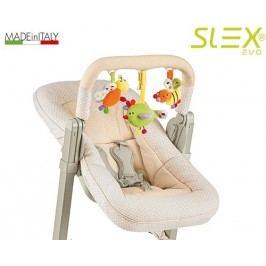 BREVI - Slex Evo 223 Polohovatelná sedátko na krmení k židli