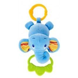 Hračka na C kroužku Tug Tunes s melodií, 0m + slon