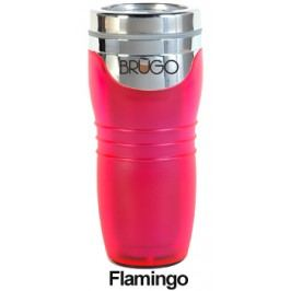 BRUGO - Termohrnek 450 ml - Flamingo