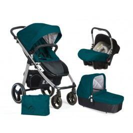 CASUALPLAY - Set kočárek LOOP Aluminium, autosedačka Baby 0plus, vanička Cot a Bag 2017 - Capri